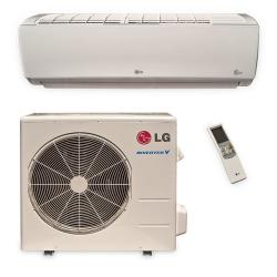 Brand: LG, Model: LS121HSV3, Style: 11,200 BTU Single Zone Wall-Mount Ductless Split System