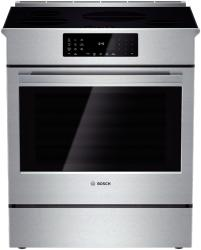 Brand: Bosch Benchmark, Model: HIIP054U, Style: 30 Inch Slide-in Induction Range