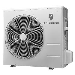 Brand: FRIEDRICH, Model: M24CJ, Color: 22,000 BTU Single Zone Wall-Mount Ductless Split System