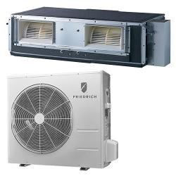 Brand: FRIEDRICH, Model: D24YJ, Style: 24,000 BTU Single Zone Concealed Ductless Split System
