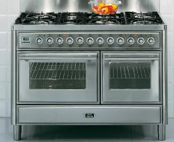 Brand: Ilve, Model: UMT120FMPB, Color: Stainless Steel
