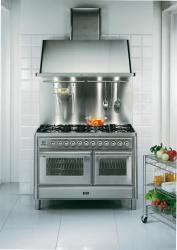 Brand: Ilve, Model: UMT120S5MPB, Color: Stainless Steel
