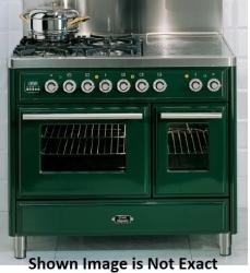 Brand: Ilve, Model: UMTD100FMPA, Color: Emerald Green