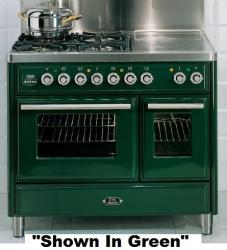 Brand: Ilve, Model: UMTD100SMPVS, Color: Emerald Green