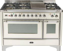Brand: Ilve, Model: UM120S5MPIX, Color: Antique White