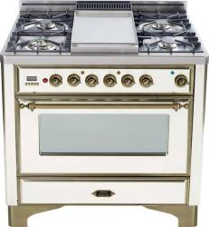 Brand: Ilve, Model: UM90FVGGBY, Color: Antique White