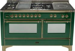 Brand: Ilve, Model: UM150SMPBLY, Color: Emerald Green