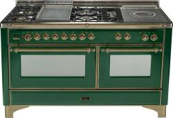 Brand: Ilve, Model: UM150FSMPAY, Color: Emerald Green