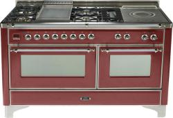 Brand: Ilve, Model: UM150FMPAX, Color: Burgundy Red