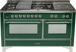 Brand: Ilve, Model: UM150FMPAX, Color: Emerald Green