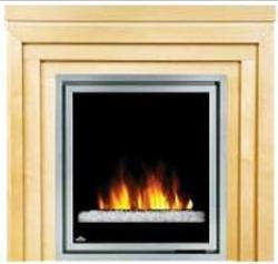 Brand: Napoleon, Model: EFMM30GC, Style: Electric Fireplace with Metro Mantel