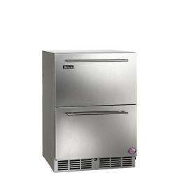 Brand: PERLICK, Model: HC24RO1L, Style: Stainless Steel Drawers