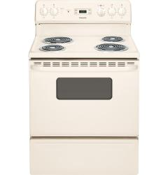 Brand: HOTPOINT, Model: RB526DHWW, Color: Bisque