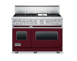 Brand: Viking, Model: VDR7486GCN, Fuel Type: Burgundy, Liquid Propane