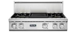 Brand: Viking, Model: VGRT7364GSS, Fuel Type: Stainless Steel, Natural Gas