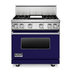 Brand: Viking, Model: VGR7364GCBLP, Fuel Type: Cobalt Blue, Natural Gas