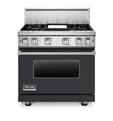 Brand: Viking, Model: VGR7364GCBLP, Fuel Type: Graphite Gray, Natural Gas