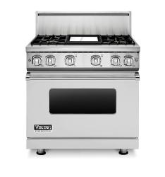 Brand: Viking, Model: VGR7364GCBLP, Fuel Type: Stainless Steel, Natural Gas