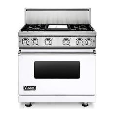 Brand: Viking, Model: VGR7364GCBLP, Fuel Type: White, Natural Gas