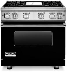 Brand: Viking, Model: VGR7364GCBLP, Fuel Type: Black, Liquid Propane