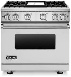 Brand: Viking, Model: VGR7364GCBLP, Fuel Type: Stainless Steel, Liquid Propane