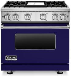 Brand: Viking, Model: VGR7364GCBLP, Fuel Type: Cobalt Blue, Liquid Propane