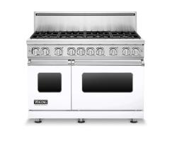 Brand: Viking, Model: VGR7488BSSLP, Color: White, Liquid Propane