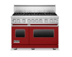 Brand: Viking, Model: VGR7488BSSLP, Color: Apple Red, Liquid Propane
