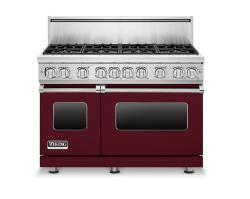 Brand: Viking, Model: VGR7488BSSLP, Color: Burgundy, Liquid Propane