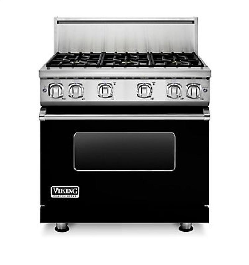 Viking Vgr7366bss 36 Inch Pro Style Gas Range With 6