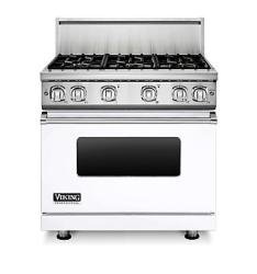 Brand: Viking, Model: VGR7366BBULP, Fuel Type: White, Natural Gas