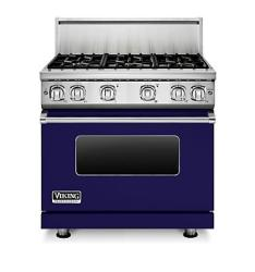 Brand: Viking, Model: VGR7366BAR, Fuel Type: Cobalt Blue, Natural Gas