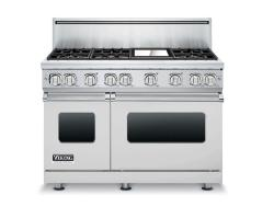 Brand: Viking, Model: VGR7486GCBLP, Color: Stainless Steel, Liquid Propane