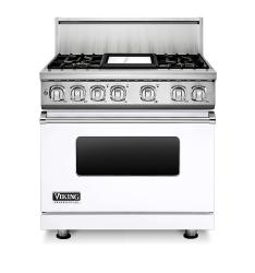 Brand: Viking, Model: VDR7364GAR, Fuel Type: White, Natural Gas