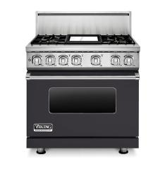 Brand: Viking, Model: VDR7364GAR, Fuel Type: Graphite Gray, Natural Gas