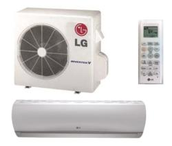 Brand: LG, Model: LS360HLV, Style: 33,000 BTU Single Zone Wall-Mount Ductless Split System