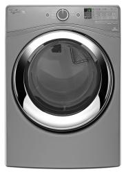 Brand: Whirlpool, Model: WED87HEDW, Color: Chrome Shadow