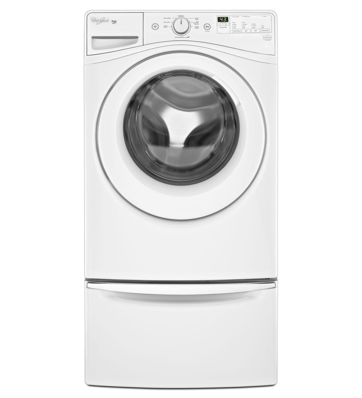 Wfw72hedw Whirlpool Wfw72hedw Duet Front Load Tumble