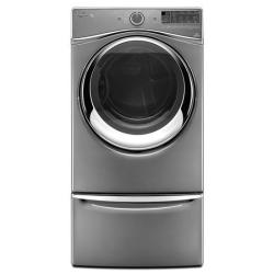 Brand: Whirlpool, Model: WED97HED, Color: Chrome Shadow