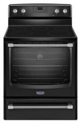 Brand: Maytag, Model: MER8700DW, Color: Black with Silver Handle
