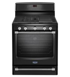 Brand: MAYTAG, Model: MGR8800DS, Color: Black