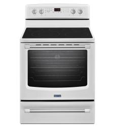 Brand: Maytag, Model: MER8800DH, Color: White
