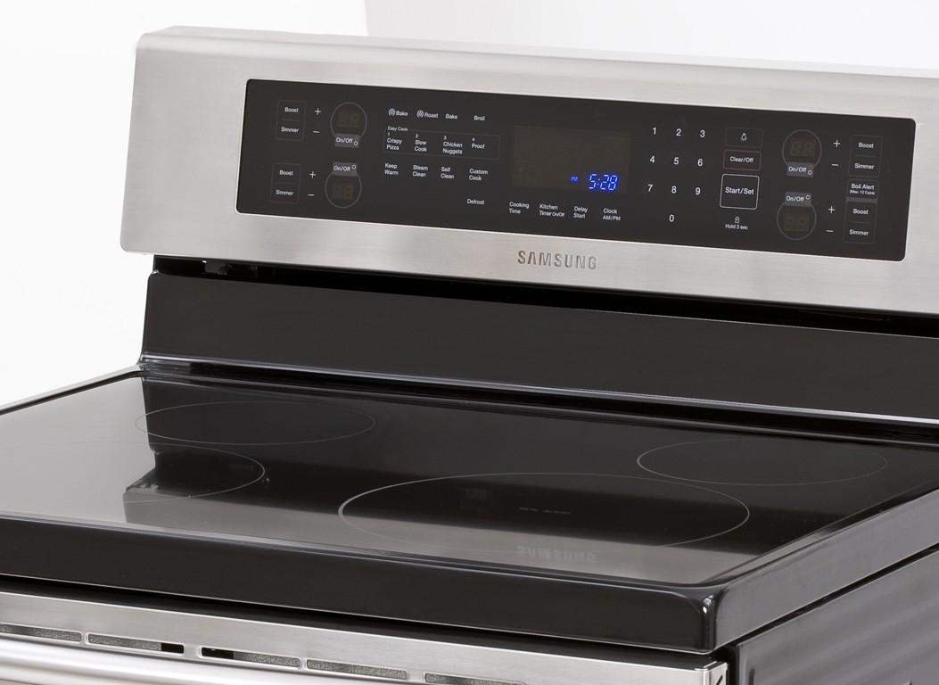 Samsung Ne595n0pbsr 30 Quot Freestanding Electric Range With 4
