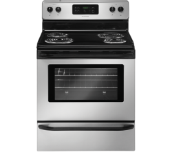 Brand: FRIGIDAIRE, Model: FFEF3015PW, Color: Silver Mist