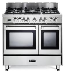 Brand: Verona, Model: VEFSGE365NDSSTB364E, Color: Stainless Steel