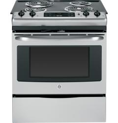 Brand: GE, Model: JS250DFWW, Color: Stainless Steel