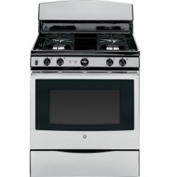 Brand: GE, Model: JGB450DEFWW, Color: Stainless Steel