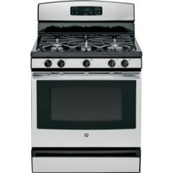 Brand: GE, Model: JGBS65DEFBB, Color: Stainless Steel