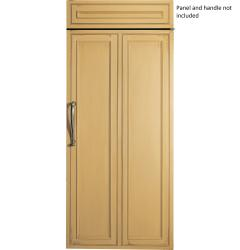 Brand: GE, Model: ZIF360NHRH, Style: Hinges on Right