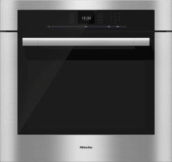 Brand: MIELE, Model: H6580BP, Style: Clean Touch Steel with ContourLine Handle
